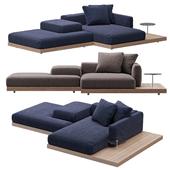 Sofa B & B italia Dock model 2
