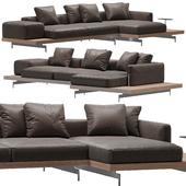 Sofa B & B italia Dock model 3