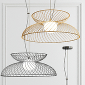 Cage Ceiling Light - Charcoal