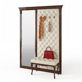 Благо мебель Б5-7-2 вешалка с банкеткой Б4-4