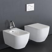 Scarabeo Ceramiche Teorema 2.0 Wall-Hung WC