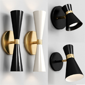 Shades of light WALL SCONCE SET