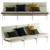 Blu Dot / Perch Outdoor 3 Seat Sofa