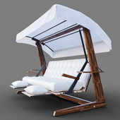 Luna 2600 Luxury Garden Swing Chair