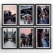 Постеры: Kyoto, Japan.