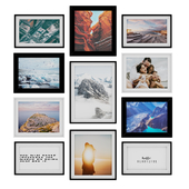 Photo Frame Set 21 (11 Frame Wall Collection)