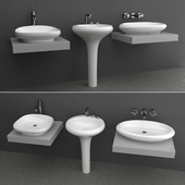 Wash basin set 6