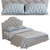 Cordeaux Bed by Christopher Knight Home