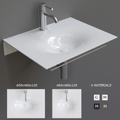 Scarabeo Ceramiche Veil Wall-mounted Washbasin