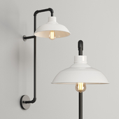 Farmhouse Pipe Wall Sconce