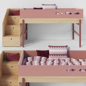 Flexa Popsicle Bed Cherry