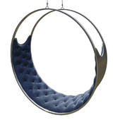 Suspended swing chair