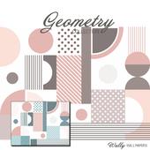 Wallpaper Geometry Pastel