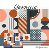 Wallpaper Geometry Bright