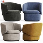 Crescent Swivel Chair Westelm