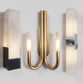 Sconce set by Kelly Wearstler