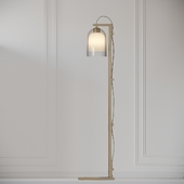 Articolo - LUMI Floor Lamps - Brass - Grey and Grey