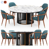 Ulivi Claire Table and Lise Armchair