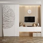 IKEA storage system with TV zone