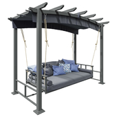 Atlanta Day Bed Garden Furniture Swing Seat