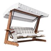 Luna 2600 Luxury Garden Swing Chair
