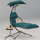 """""""MOON"""". Suspended swing-chaise"""