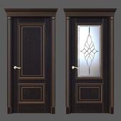 Дверь Белоравуд АРТ2 Каштан (Патина бронза)