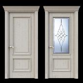 Дверь Белоравуд АРТ2 Беленый дуб