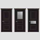 Дверь Белоравуд АРТ3 Каштан (Патина бронза)