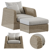 Janusetcie Zeya Lounge Chair Set