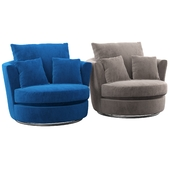 Adelina Swivel Tub Chair