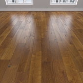 Parquet Oak amber, 3 types: herringbone, linear, chevron.