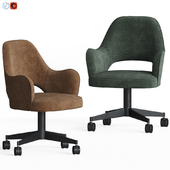 Colette Office Chair Baxter Armchair