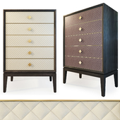 Chest of 6 drawers Laurent dresser. The Sofa & Chair compani