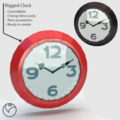 Rigged Clock