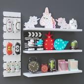 Shop decor set (set of souvenirs and decor)