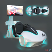 Leke VR Flash Racing