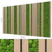 Decorative wall 224.