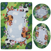 Ковер «KIDS COLLECTION» COW FARM