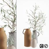Olive & rosmarinus branch