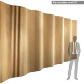 Parametric wall 007