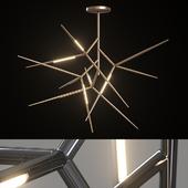 Люстра Venicem Spear chandelier (3 материала).