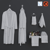 Bathroom 6 decorative set