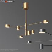 Modern Pendant Lightin Chandelier Counterpoint