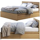 Ikea Malm bed 2