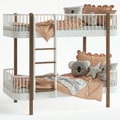 Children's bed - Nubie Oliver Wood Bed