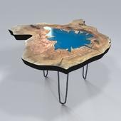 Журнальный стол-слеб (table slab)