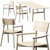 Hven armchair, table 260 model