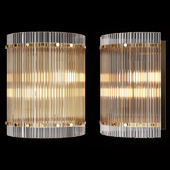 Restoration Hardware SAN MARCO ROUND SINGLE SCONCE Brass