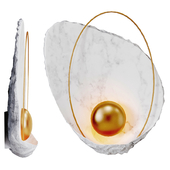 Sconce Ginger & Jagger Pearl Wall Lamp